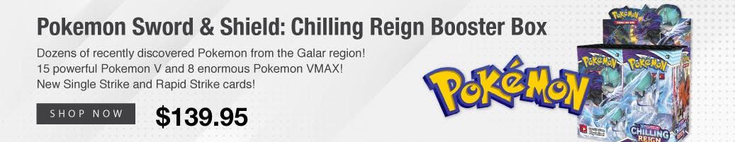 Pokemon Sword & Shield: Chilling Reign Booster Box